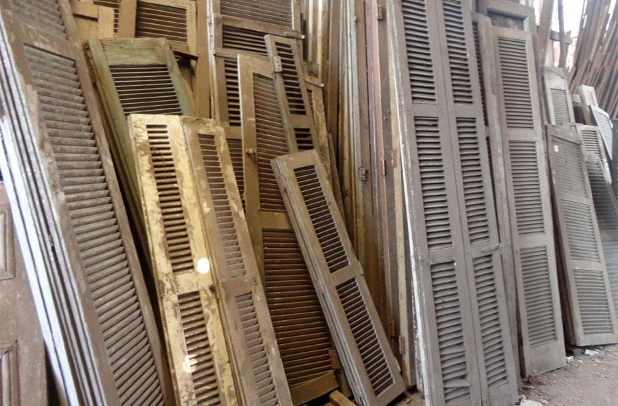 CelosÍas de madera, variedad.