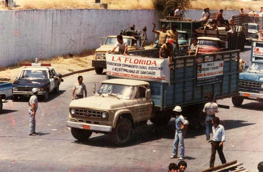 1985: Camiones propiedad